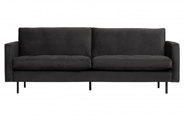 Sofa Classic 2,5 Sitzer Anthrazit von BePureHome