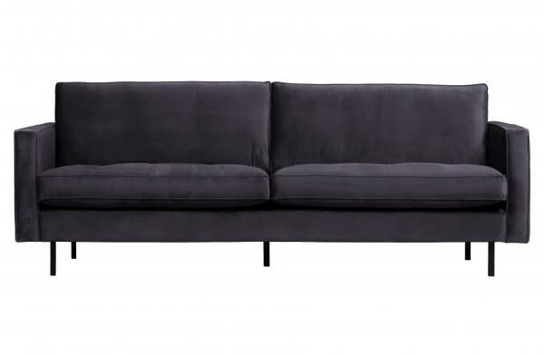 Sofa Classic 2,5 Sitzer Dunkelgrau von BePureHome