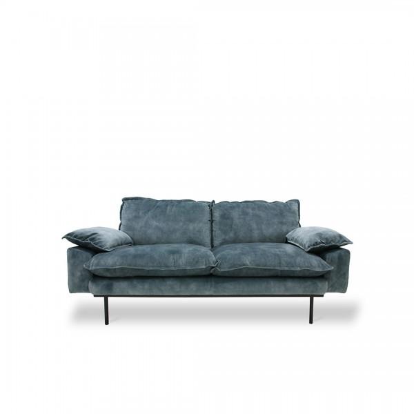 Sofa Retro Blau von HKliving