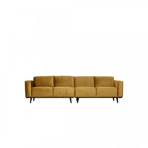 Sofa Statement 4-Sitzer Honiggelb von De Eekhoorn
