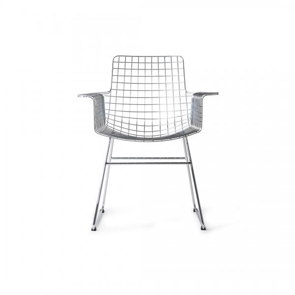 Stuhl Metall Silber von HKliving