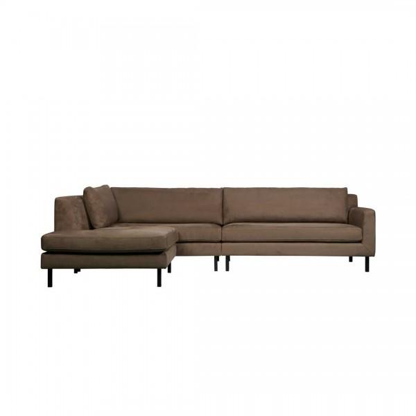 Couch Lounge Taupe Links von De Eekhoorn