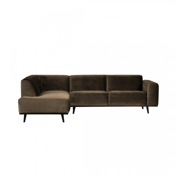 Sofa Statement Taupe Links von De Eekhoorn