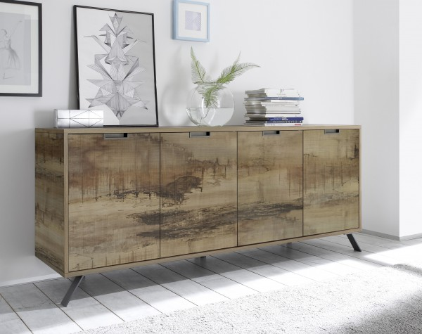 LC Spa Sideboard 4 Türen 206cm Pero Optik