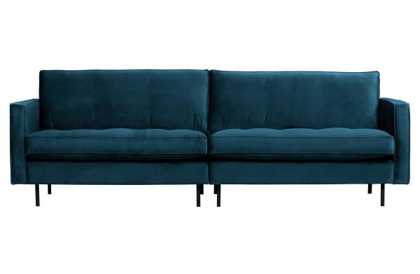 Sofa Classic 3 Sitzer Blau von BePureHome