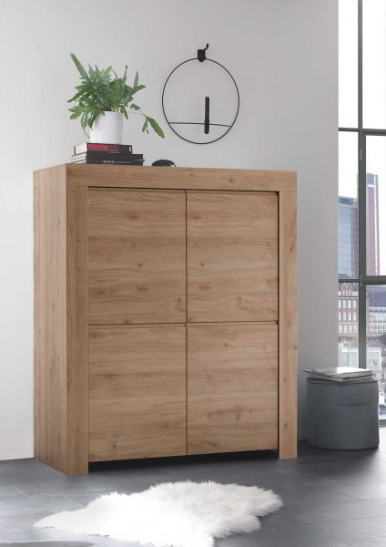 Highboard Firenze Eiche von LC Spa