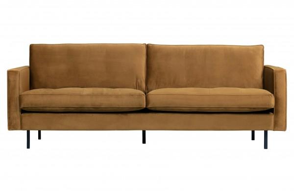 Sofa Classic 2,5 Sitzer Honiggelb von BePureHome