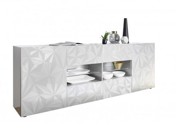 Sideboard Prisma Weiß 241cm von LC Spa