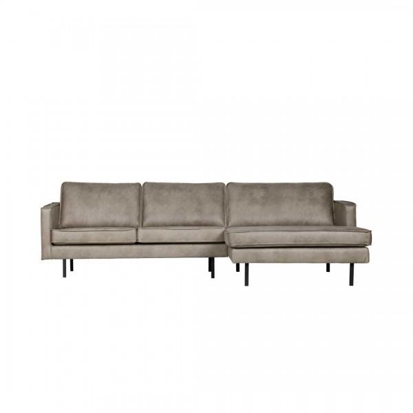 Sofa 3-Sitzer elephant skin Chaiselongue rechts von De Eekhoorn