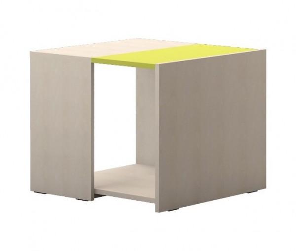 Club Tisch Ahorn/ Trio grün