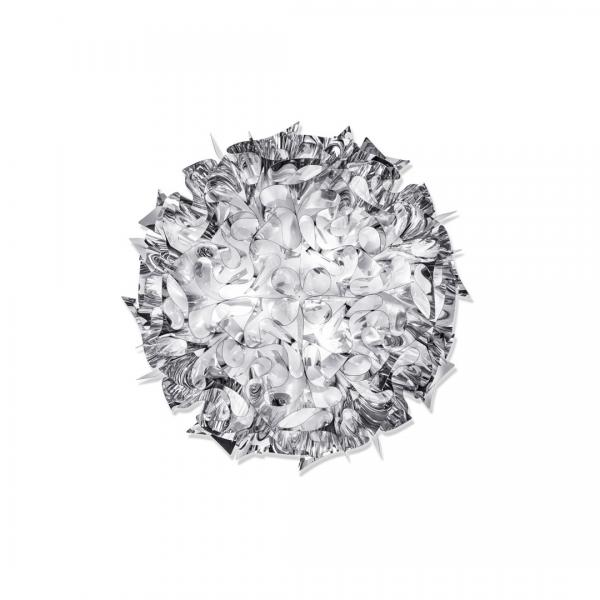 Veli Decken-/Wandleuchte L Silber von Slamp