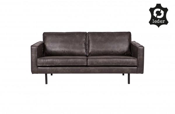 Sofa Rodeo 2,5 Sitzer Schwarz von Bepurehome